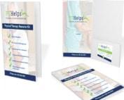 physical therapist presentation folders