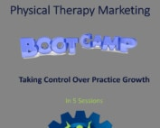 Physical Therapy Marketing Boot Camp - Cover Image